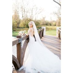 Soft Wedding Veil ($26) ❤ liked on Polyvore featuring accessories