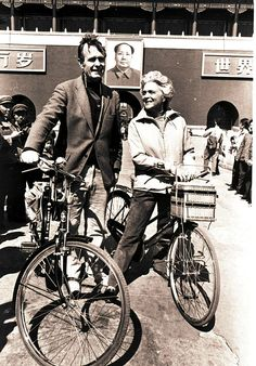 George H. W. Bush and Wife Barbara in China - 1974 41st #President of the United States