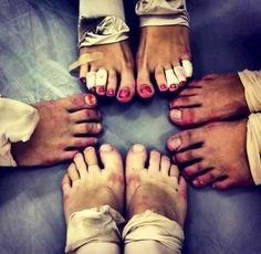 Dancer's feet: the price of passion (sadly mine kinda start to look like this bc of pointe)