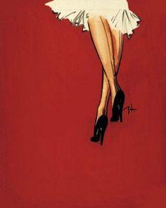 Rene Gruau - one of my fav fashion illustrators