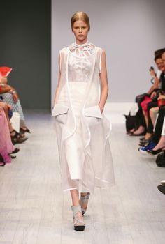 ep_anoui by Eva Poleschinski @ Berlin Fashion Week Berlin Fashion, Catwalk, Formal Dresses, See Through, Dresses For Formal, Gowns