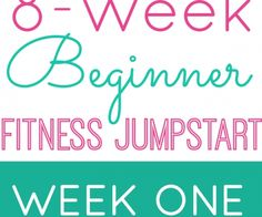 Who's ready to get fit and start feeling healthier? Today is the beginning of Week One of our Beginner's Fitness Jumpstart, and I could not be more excited about it! Every Monday through October Whole Body Workouts, Fun Workouts, At Home Workouts, Workout Exercises, Fitness Exercises, Workout Guide, Workout Challenge, Week Workout, Workout Ideas