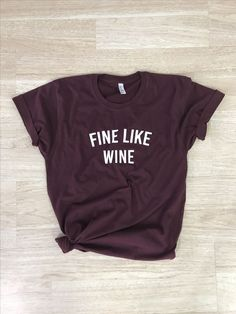 For the Wine Lovers out there. Possibly the best wine tasting shirt ever. SandiLake Clothing