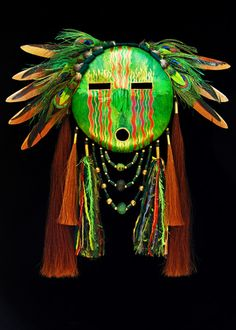 Autumn Forest mask