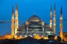 The Six Minarets of the Blue Mosque