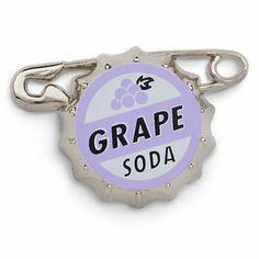Disney Russell's Grape Soda Bottlecap Pin - Up   Disney Store