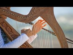 """Relaxing harp music for stress relief (called """"Purple Flowers"""") that can be used as sleep music, background music, meditation music spa music and study music. Tibetan Meditation Music, Meditation Musik, Guided Meditation, Meditation Youtube, Yoga Youtube, Mindfulness Meditation, Instrument Music, Music Instruments, Relaxing Harp Music"""