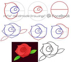 Learn how to draw a simple flower