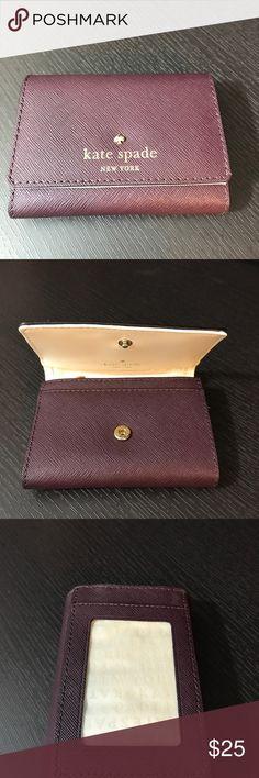 Kate Spade card wallet Like new Kate Spade card wallet kate spade Bags Wallets
