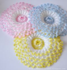FREE PHOTO TUTORIAL   ...........  ............Crochet flowers (667x700, 281Kb)