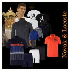 """""""New Men's Tennis Gear from Lacoste"""" by tennisexpress ❤ liked on Polyvore featuring men's fashion, menswear, tennis, Lacoste, athleticwear, tennisfashion and TennisExpress"""