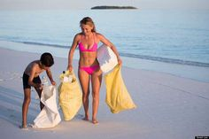 Maldive photos show mountains of plastic bottles washed up on islands Latino News, Beach Clean Up, Access To Clean Water, Honeymoon Island, Plastic Pollution, Plastic Waste, Ocean Life, Walk On, Plastic Bottles