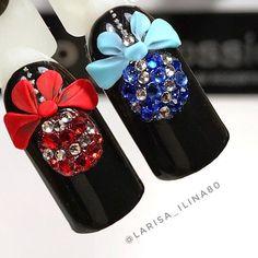 280 отметок «Нравится», 3 комментариев — Александра (@aleksa452) в Instagram: «#Christmas #christmasnails #nails #nail #polish #nailpolish #mani #manicure #motd #notd #nailsofig…»