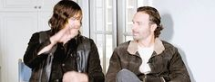 Pin for Later: 14 Times Norman Reedus and Andrew Lincoln's Bromance Was Too Adorable to Ignore When They Agreed on Their Bromance