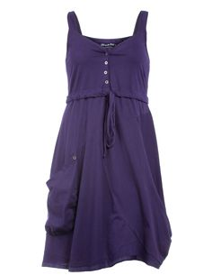 Ultimate Miks High-waisted cotton dress in Violet