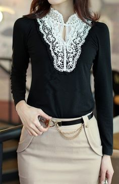 Faux Pearl Embellished