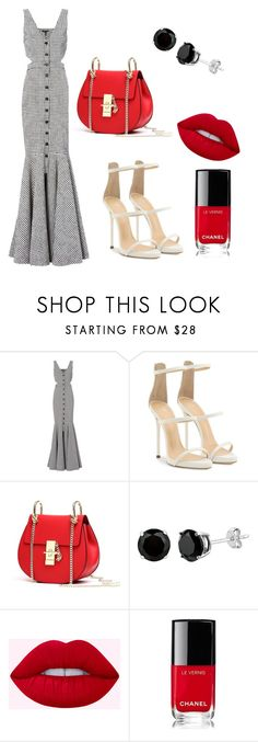 """SUMMER formal ootd"" by natashae20 ❤ liked on Polyvore featuring Marissa Webb, Giuseppe Zanotti and Chanel"