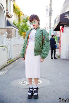 Beni, 20 years old student | 20 January 2016 | #Fashion #Harajuku (原宿) #Shibuya…