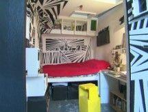 Brooklyn loft has 5 unique living pods -- feels claustrophobic to me....