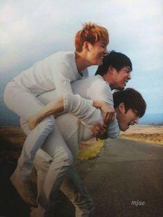 Junsu, Yoochun & JaeJoong