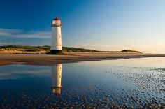 he lighthouse at Talacre in North Wales.