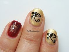 PinNails: Egyptian Nails / Uñas Egipcias