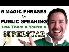 Overcome Fear of Public Speaking: Public Speaking Tips Training Video--No More Anxiety Ever!