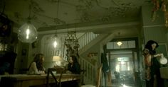 """Those ceilings! The Victorian kitchen on the series """"Witches of East End"""" 