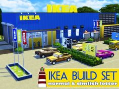 Akisima Sims Blog: Ikea Build set • Sims 4 Downloads
