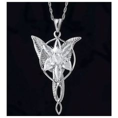 EvenSTAR elven arwen necklace lord of the rings ($7.84) ❤ liked on Polyvore featuring jewelry and rings
