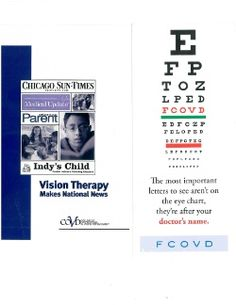 College of Optometrists in Vision Development - Improving lives by advancing excellence in optometric vision therapy and rehabilitation through education and board certification Vision Therapy, Optometry, College, Chart, Education, Store, Life, University, Potato Humor