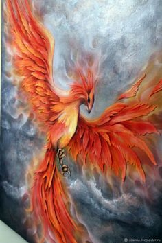 Phoenix Painting, Phoenix Artwork, Phoenix Drawing, Phoenix Images, Phoenix Bird Tattoos, Phoenix Tattoo Design, Phoenix Legend, Phenix Tattoo, Arte Yin Yang