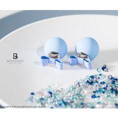 Bonny & Read 平價飾品 - 甜心馬卡龍泡泡耳環