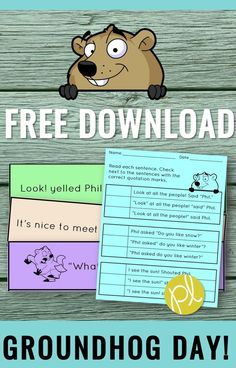 Here's a quick and FREE Groundhog activity when it's February 2nd, but the learning must still go on! There's also a printable included that helped my students with NWEA-MAP questions. Read more at my blogpost and download the free activity! From Positively Learning Blog