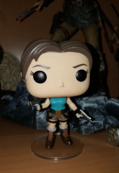 Lara Croft Funko Pop! figure (front view)