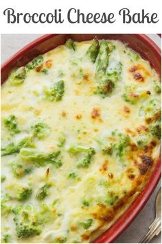 BROCCOLI CHEESE BAKE is a delicious creamy and cheesy baked broccoli side dish perfect for a family dinner or get together. BROCCOLI CHEESE BAKE is a delicious creamy and cheesy baked broccoli side dish perfect for a family dinner or get together. Low Carb Side Dishes, Vegetable Sides, Vegetable Side Dishes, Vegetable Recipes, Vegetarian Recipes, Cooking Recipes, Healthy Recipes, Fruit Recipes, Fruit Snacks