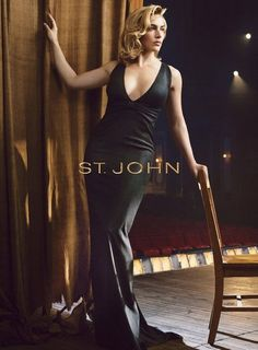 Kate Winslet for St John - my favorite actress looks gorgeous in these sultry ads