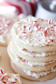 candy cane cookies