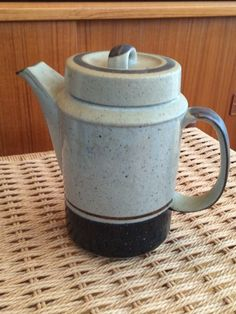 A personal favorite from my Etsy shop https://www.etsy.com/listing/222537141/teapot-scandinavian-style-art-pottery