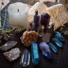 Setting the Mood // Crystal Fairy Vibes