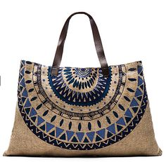 Loving this medallion print bag