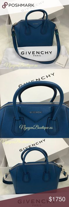82c06e148fa4 GIVENCHY Bag GIVENCHY Small Antigona bag - Indigo Blue - Can be carried by  the top