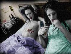 Marilyn Manson and Iggy Pop