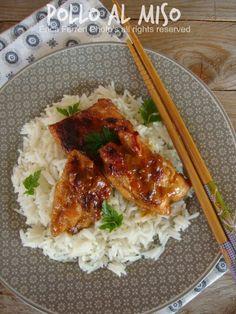 chicken miso with photos step by step - Pollo al miso con foto passo passo
