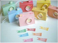 DIY Paper Camera - Cool Marketing idea or Wedding Project