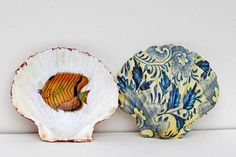How to Make Beautiful Upcycled Scallop Shell Trinket Dishes DIY