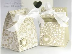 Stampin' Up! Fold Over Smooth Domed Bag Tutorial - YouTube