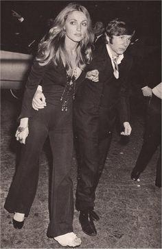 Sharon Tate and Roman Polanski  Paris 1967