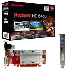 Selected Radeon HD6450 1GB GDDR3 By Diamond Multimedia by At Diamond Multimedia. $58.71. At Diamond Multimedia they are committed to provide the consumer with the highest and best quality when it comes to products like this Exclusive Radeon HD6450 1GB GDDR3 By Diamond Multimedia.DIAMOND ATI Radeon HD6450 1GB GDDR3 Dual Link DVI + 1 HDMI + VGA By selecting Diamond Multimedia Radeon HD6450 1GB GDDR3 - we know you chose right, because at Diamond Multimedia they are dedicated to me...
