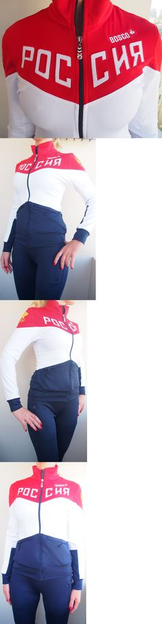 Olympics 27291: Bosco Sport Russia Rio Brasil Olympics 2016 Official Womens Uniform Track Suit -> BUY IT NOW ONLY: $69 on eBay!
